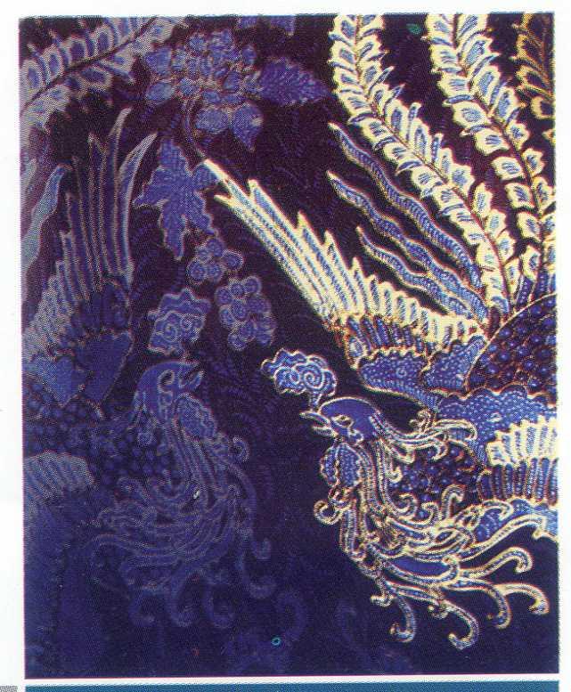 ... legenda Sawunggaling dan Daun Semanggi. menjadi ikon batik Suroboyoan