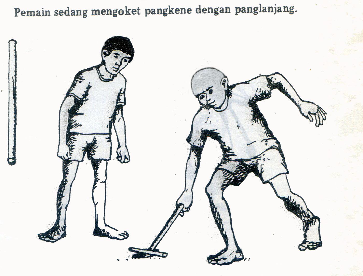 Penteng Permainan Rakyat Madura Jawa Timur