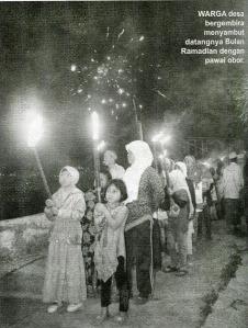 Pawai Obor Keliling Desa002