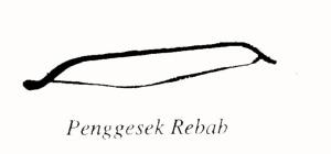 PENGGESEK REBAB