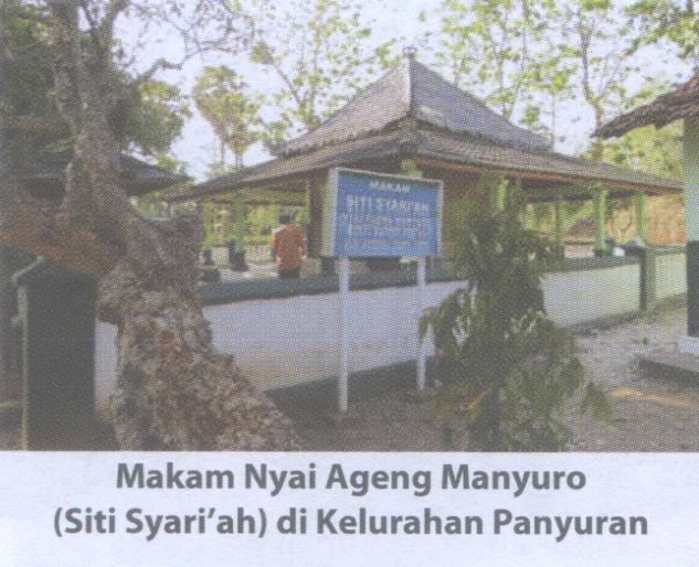 FOTO MAKAM Ki Ageng Manyuro