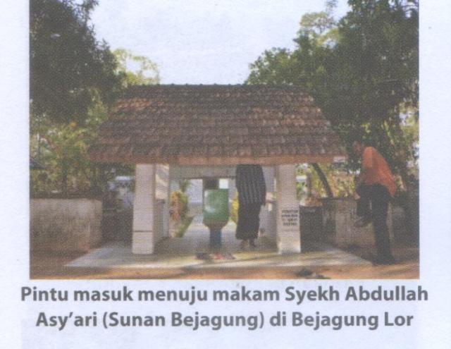 Makam Syekh Abdullah Asy'ari(Sunan Bejagung) 1
