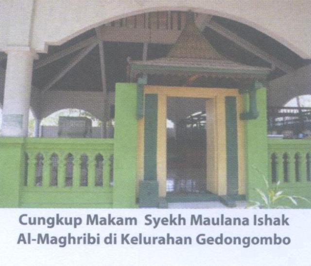 makam Syekh Maulana Ishak Al-Magribi