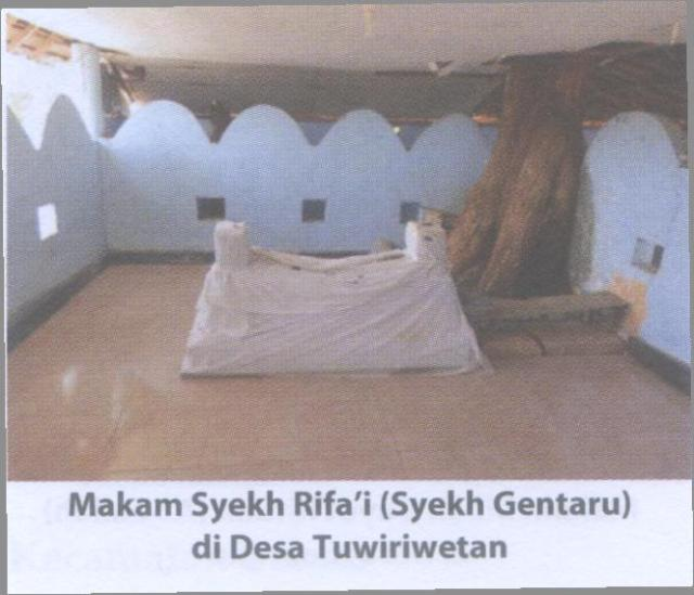 Makam Syekh Rifa'i (Syekh Gentaru)