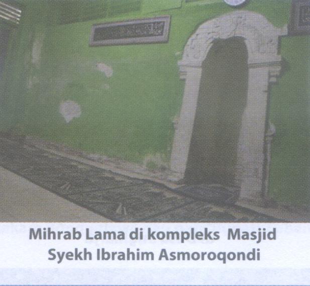 Mihrab Masjid  Ibrahim A. Qondi