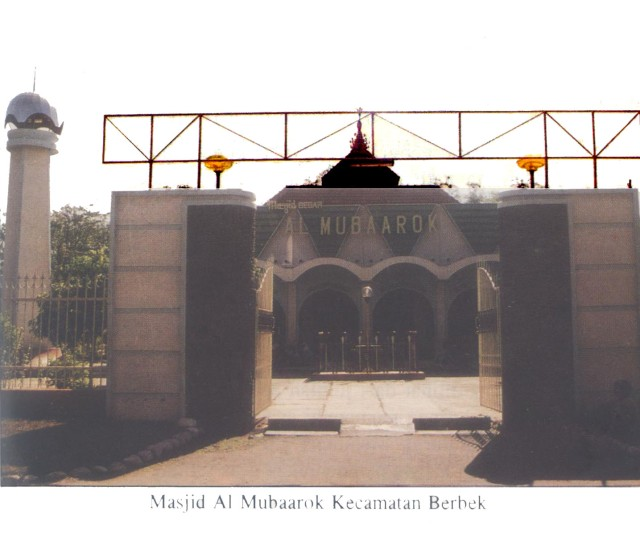 Masjid Al Mubaarok Kecamatan Berbek