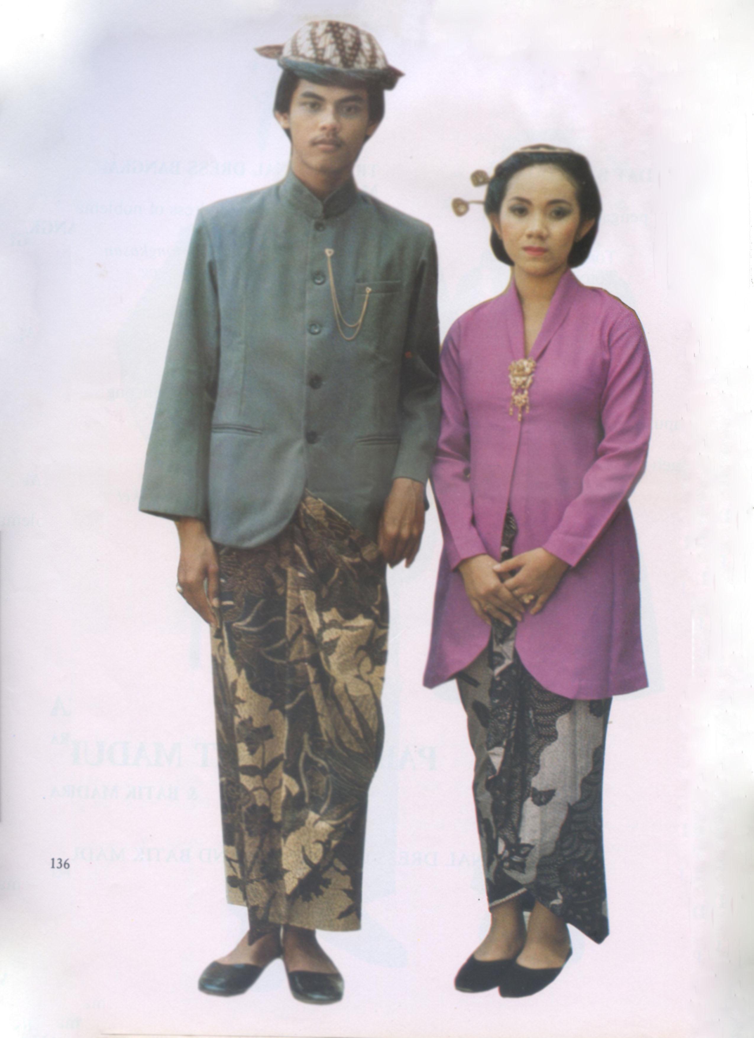 Sejarah Pakaian Adat Jawa