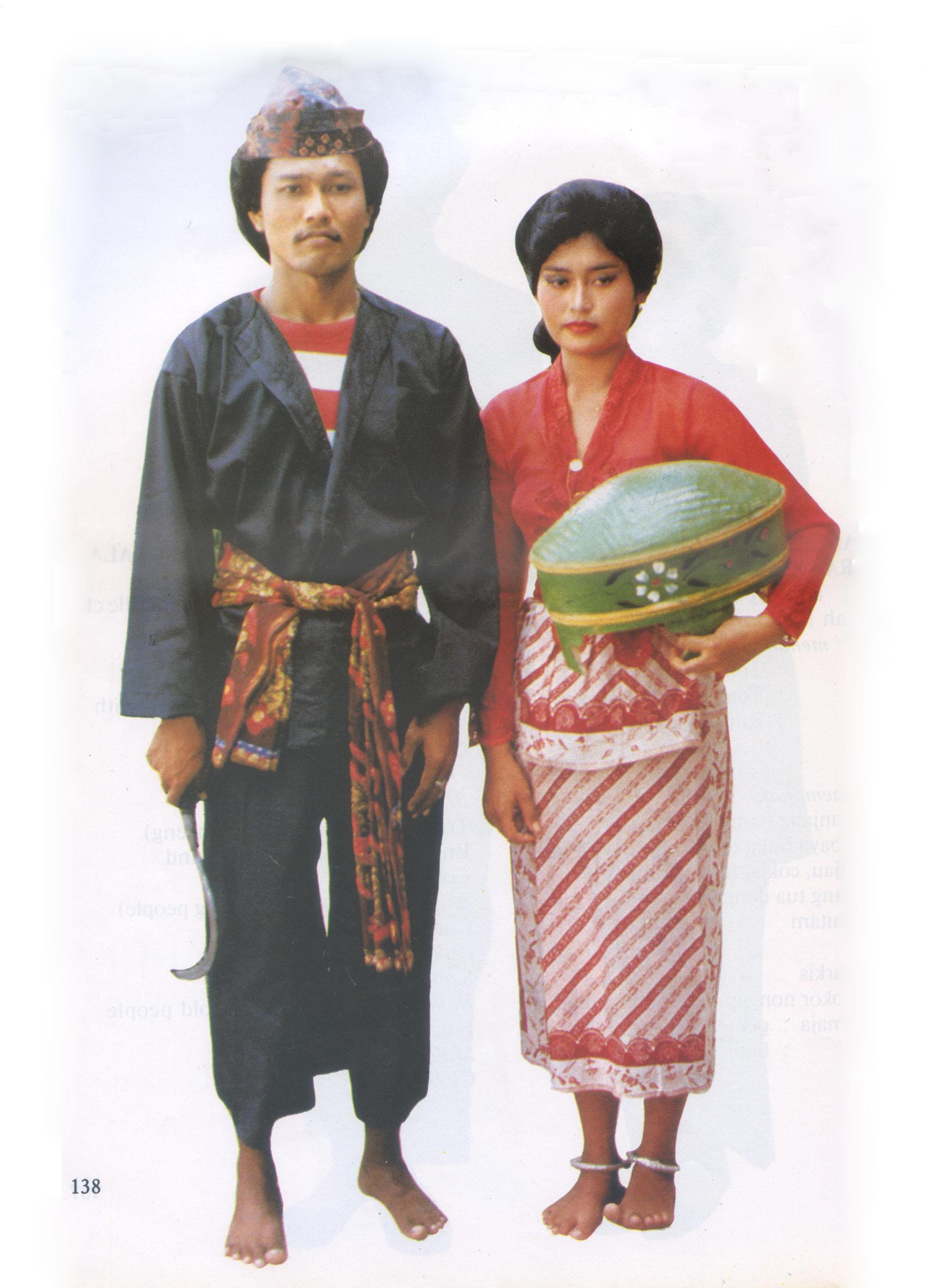 Mengenal Pakaian Adat Tradisional Madura   Ramuan Madura ...