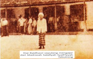 KH. Ahmad Baidhawi Asro.
